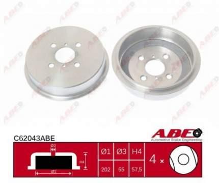 Тормозной барабан ABE C62043ABE