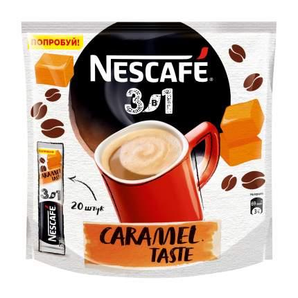 Напиток кофейный растворимый Nescafe 3в1 карамельный вкус 20x16 г