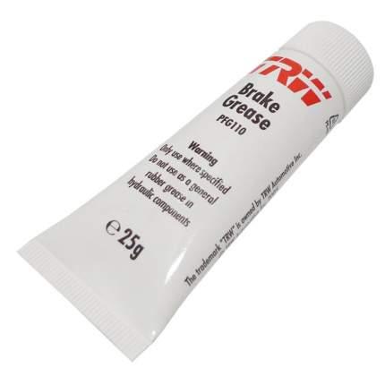 Смазка для тормозной системы TRW/Lucas PFG110 25 гр