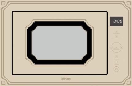 Встраиваемая микроволновая печь Korting KMI 825 RGB