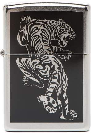 Бензиновая зажигалка Zippo №207 Tigre Street Chrome