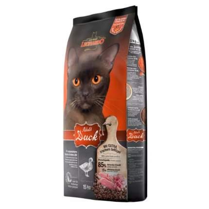 Сухой корм для кошек Leonardo Adult Duck, утка и рис, 15кг