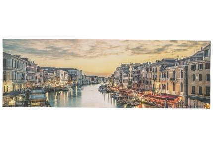 Холст на подрамнике 50х150 см Закат Hoff Венеция