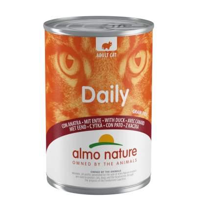 Консервы для кошек Almo Nature Daily Adult, утка, 400г