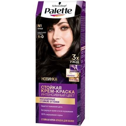 Краска для волос Palette Интенсивный цвет, тон N1 Черный