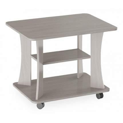 Журнальный стол Трия 40х42х40 см, коричневый/серый
