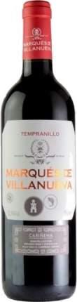 Вино Marques de Villanueva Tempranillo Carinena DO