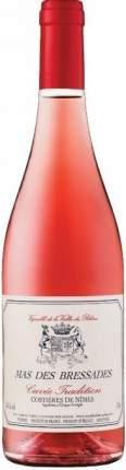 Вино Mas des Bressades Cuvee Tradition Rose Costieres de Nimes AOP 2017