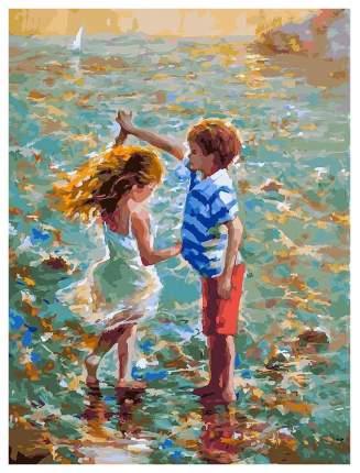 Живопись на холсте 30*40 см Танец на воде