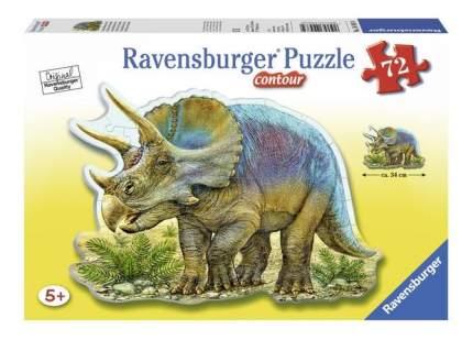 Пазл ravensburger контурный «трицератопс» 72 элем.