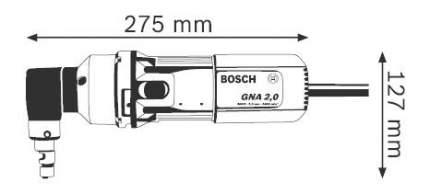 Сетевые ножницы Bosch GNA 2,0 601530103