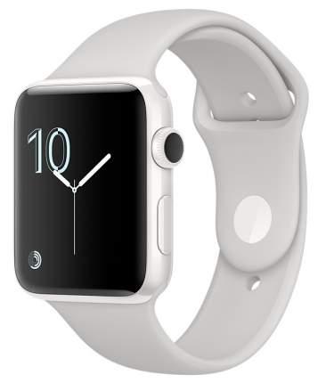 Смарт-часы Apple Watch Series 2 42mm White Ceramic/Cloud SpBand (MNPQ2RU/A)