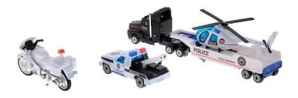Набор машин спецслужб Welly 98630-9a Полиция