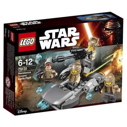Конструктор LEGO Star Wars Боевой набор Сопротивления (75131)
