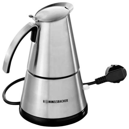 Гейзерная кофеварка Rommelsbacher EKO 366/E Delux Silver