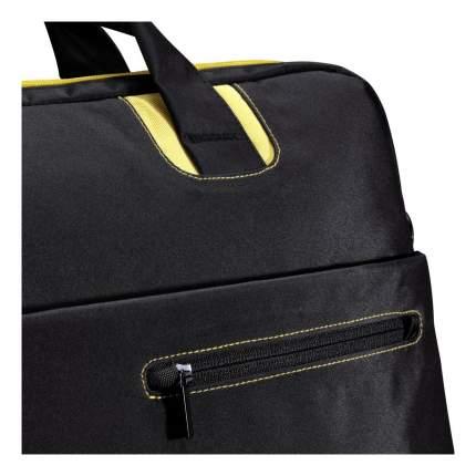 """Сумка для ноутбука 17.3"""" Hama San Francisco желтая/черная"""