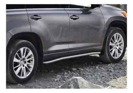 Защита порогов RIVAL для Toyota (R.5715.004)
