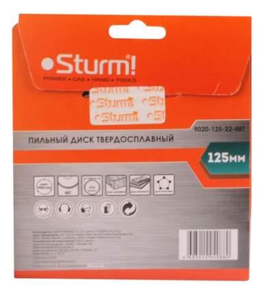 Диск по дереву для дисковых пил Sturm! 9020-125-22-48T