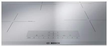 Встраиваемая варочная панель индукционная Bosch PIF679FB1E Silver