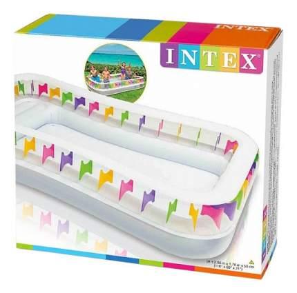 Бассейн Intex надувной Семейный