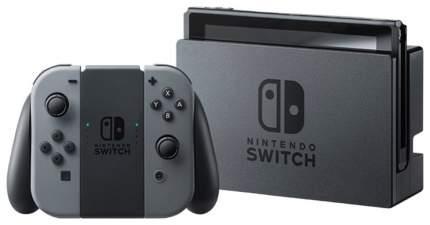 Портативная игровая консоль Nintendo Switch Gray