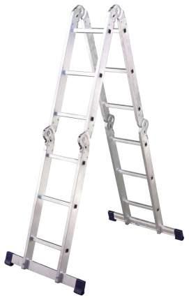Лестница-трансформер шарнирная Алюмет 4 секции по 3 ступени, 1 шт