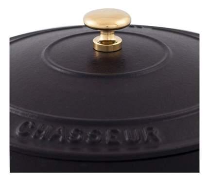 Кастрюля для запекания CHASSEUR Чугунная 6,3 л черный