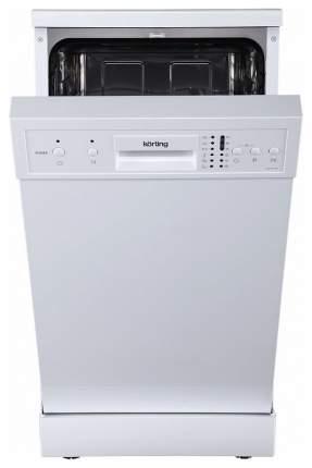 Посудомоечная машина 45 см Korting KDF 45150 white
