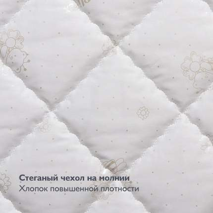 Матрас Plitex Flex Cotton Oval 125х65 см
