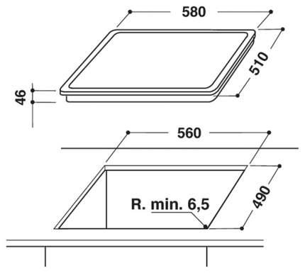 Встраиваемая электрическая панель независимая Hotpoint-Ariston HAR 642 DO X