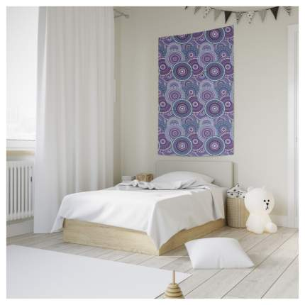 Постер JoyArty 8157 Синий, фиолетовый