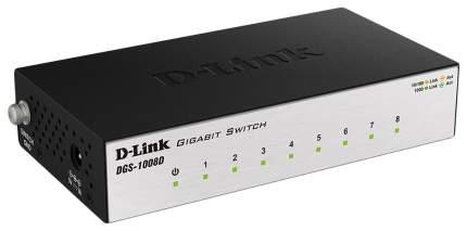 Коммутатор D-link DGS-1008D/J3A