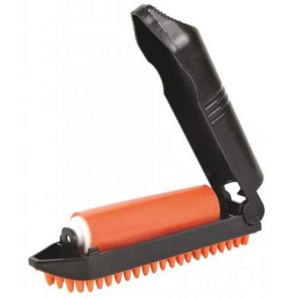 Щетка для кошек и собак TRIXIE резина, цвет черный, оранжевый