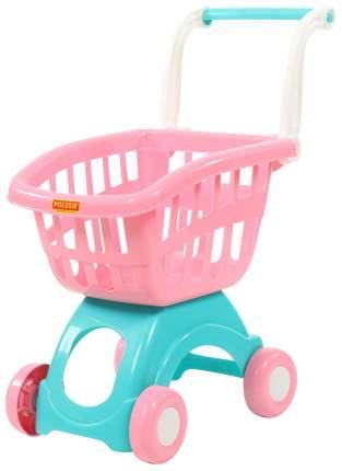 Супермаркет игрушечный Полесье Тележка Мини П-71262