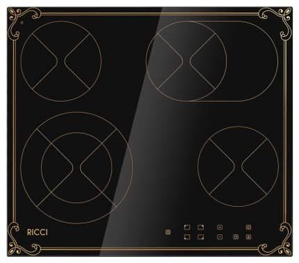 Встраиваемая варочная панель электрическая RICCI KS-T46602IR2 Gold/Black