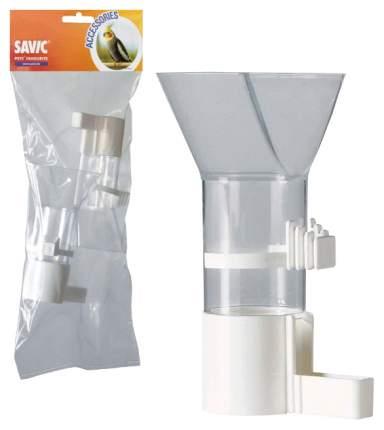Кормушка для птиц Savic, пластик, прозрачный, 2 шт (7,5 х 7,5 х 12,5 см)