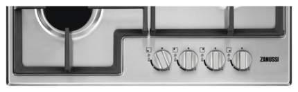 Встраиваемая варочная панель газовая Zanussi GPZ263SS Silver