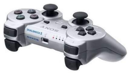Геймпад Sony PlayStation DualShock 3 (Не оригинал) Silver