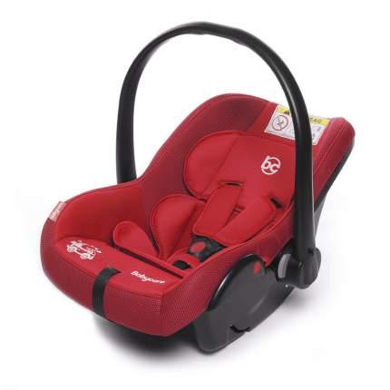 Автокресло Baby Care Lora группа 0+, 0-13 кг, красное
