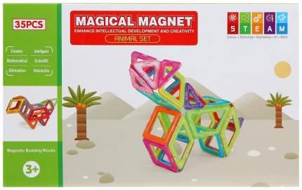 Конструктор магнитный «Магический магнит», 35 деталей Xinbida