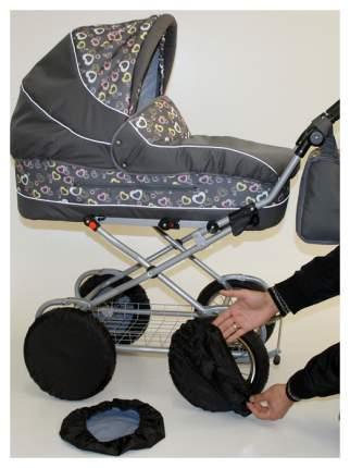 Чехлы на колеса 6 штук в комплекте на 6-ти колесную коляску