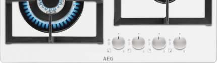 Встраиваемая газовая панель AEG HKR64440NW