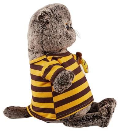 Мягкая игрушка «Басик» в полосатой футболке с пчелой, 25 см Басик и Ко