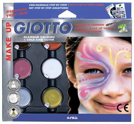 Набор GIOTTO 471100 MAKE UP Грим фантазийные цвета с кистью и спонжем