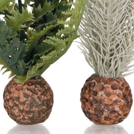 Искусственное растение для аквариума biOrb Папоротник и чертополох, набор, 20см