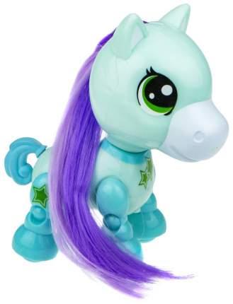 Интерактивная игрушка 1TOY Robo Pets Игривый пони Т16978 мятный