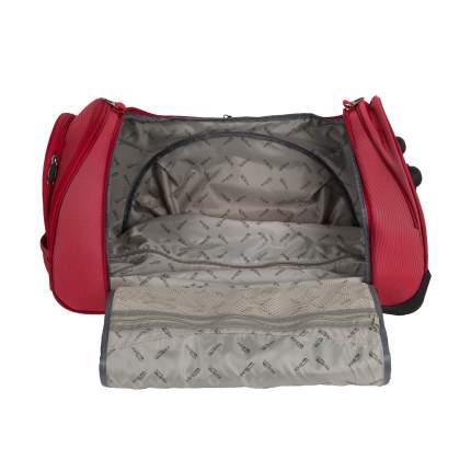 Дорожная сумка Polar 7037.5 красная 65 x 33 x 35