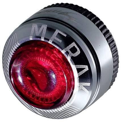 Велосипедный фонарь задний Moon Merak R черный/серебристый