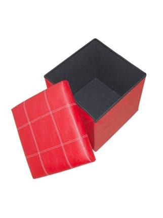 Табурет-ящик RYP56-08-38 38х38 Удачная покупка красный