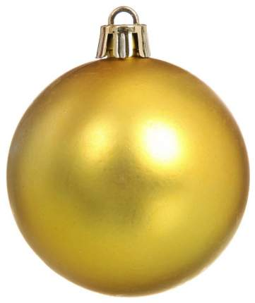 Набор шаров на ель Snowmen Блестящий шар Е50337 7 см 6 шт.